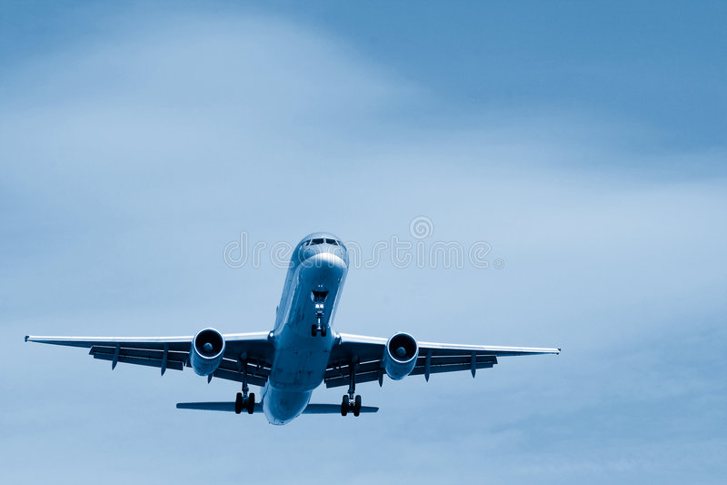 Final Approach royalty free stock images