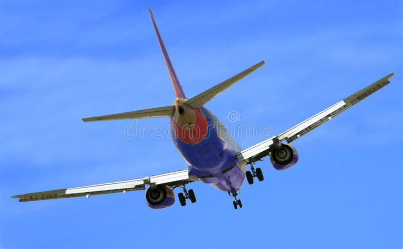 Download Final Approach stock image. Image of airplane, security - 767227