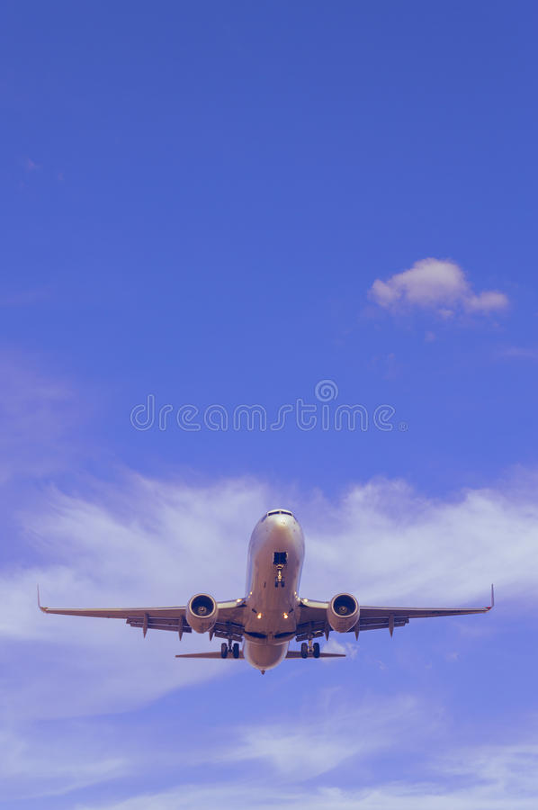Final Approach stock image
