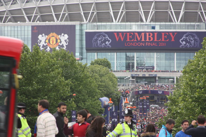Final of Champions League in Wembley, London