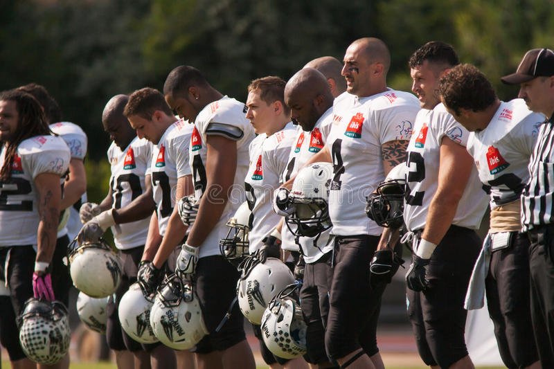 Download Final EFAF CUP 2013 editorial stock photo. Image of power - 32257208