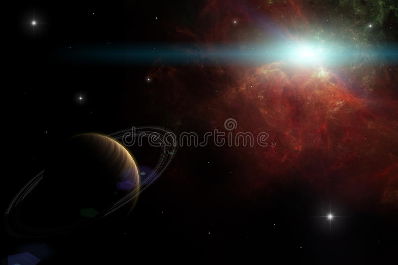 Download The final frontier stock illustration. Image of cosmos - 28299837