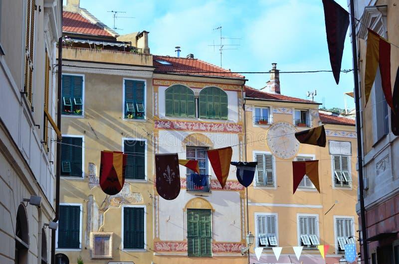 Finalborgo, Italia fotos de archivo