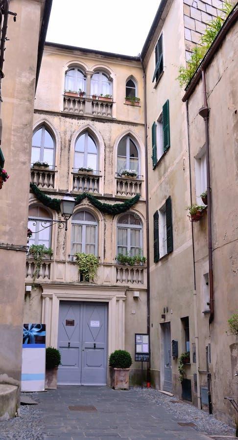Finalborgo, Italia fotografía de archivo