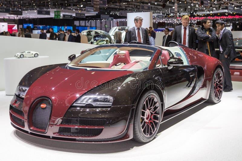 Finale 2015 de La de Bugatti Veyron image libre de droits