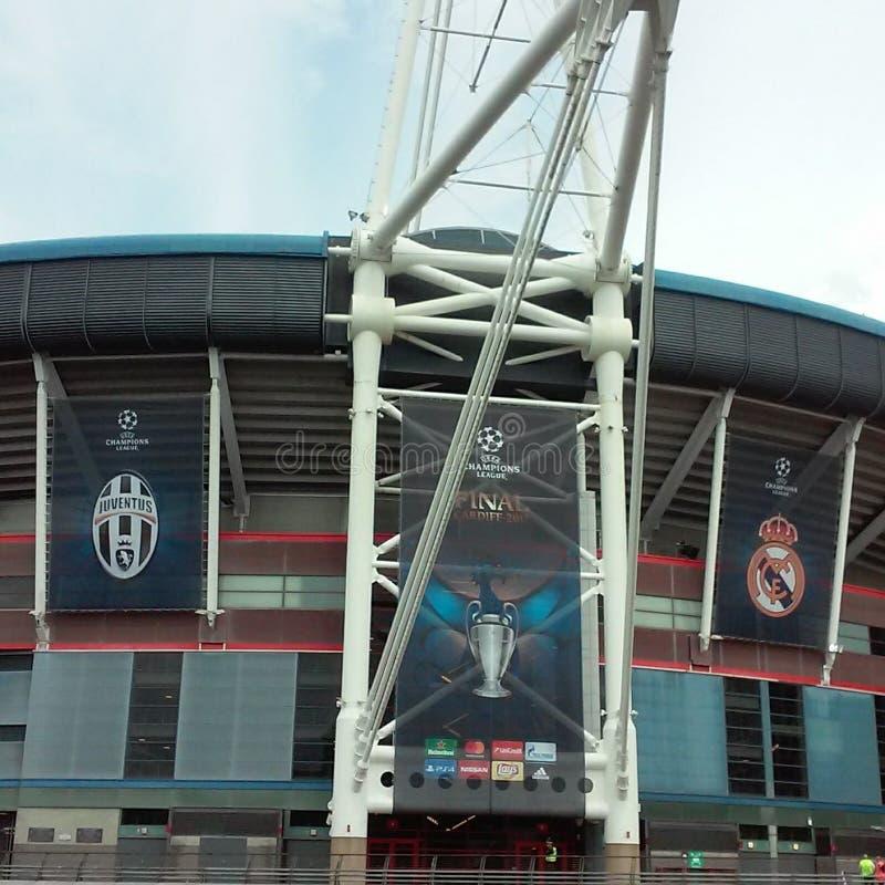 Finale 2017 della lega di campioni di UEFA immagine stock