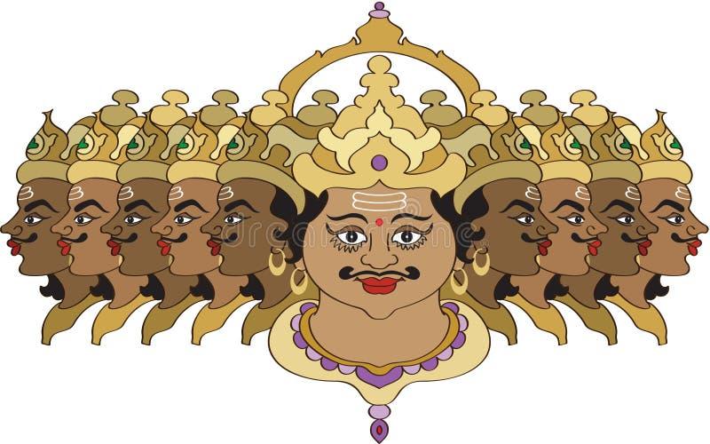 Finale di Ravana illustrazione di stock