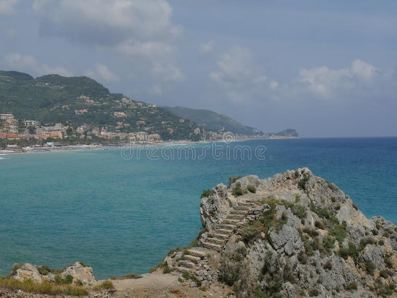 Finale Ligure photo libre de droits