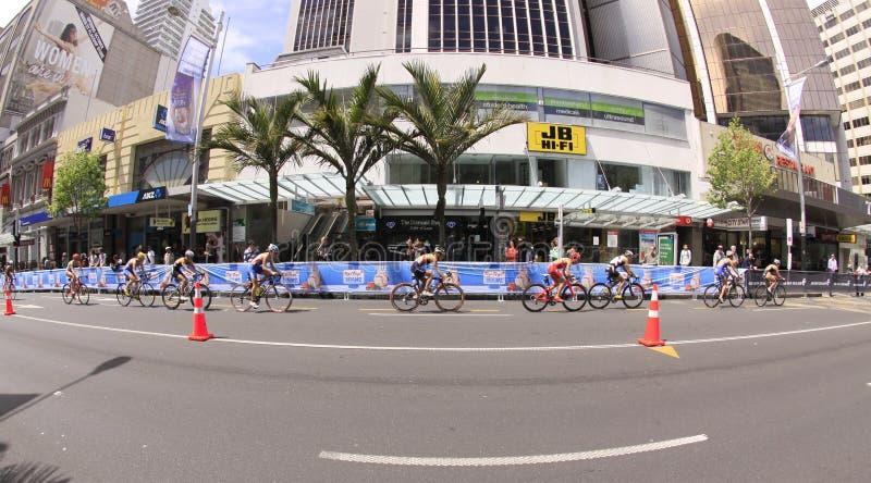 Finales 2012 grandes de Triathlon du monde d'UIT image libre de droits