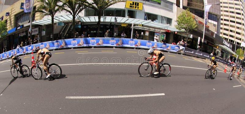 Finales magníficos 2012 del Triathlon del mundo del ITU fotografía de archivo libre de regalías