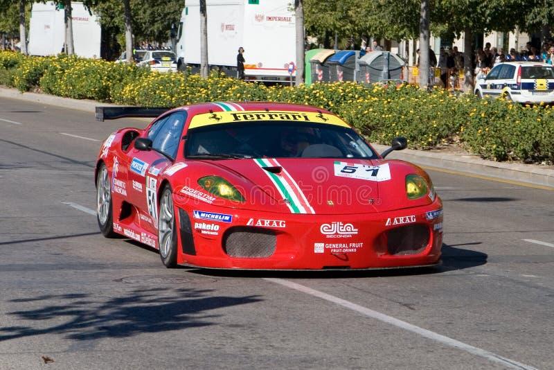 Finali del mondo del Ferrari fotografia stock libera da diritti