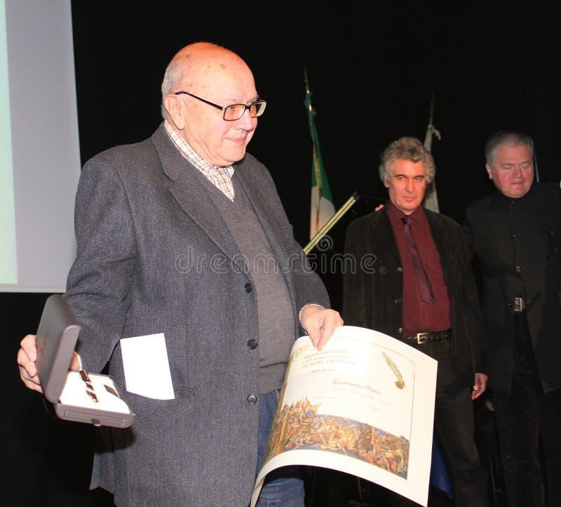Finalists 30 βραβείο Tirinnanzi Legnano Ιταλία ποίησης στοκ εικόνες με δικαίωμα ελεύθερης χρήσης