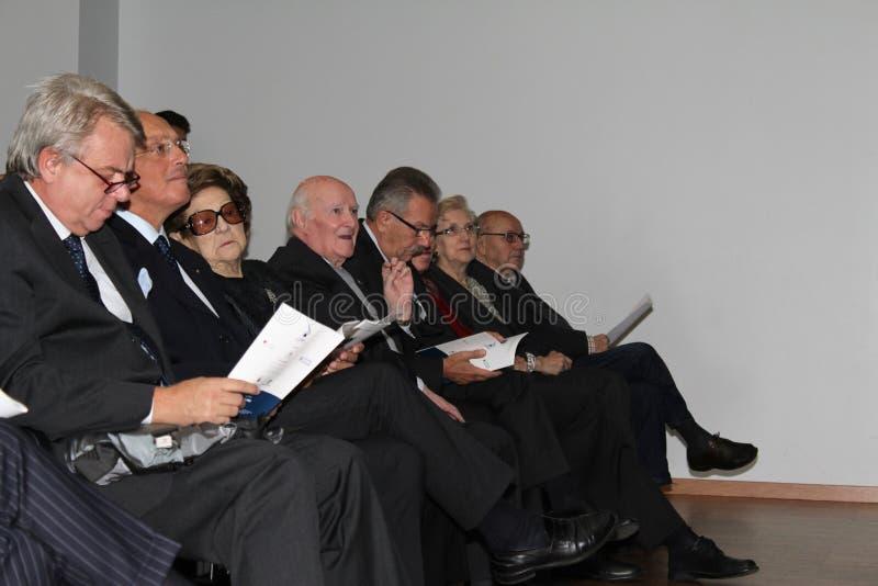 Finalists 30 ποίηση Tirinnanzi Legnano Ιταλία στοκ εικόνες