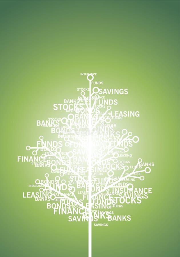 Finança, conceito ilustração do vetor