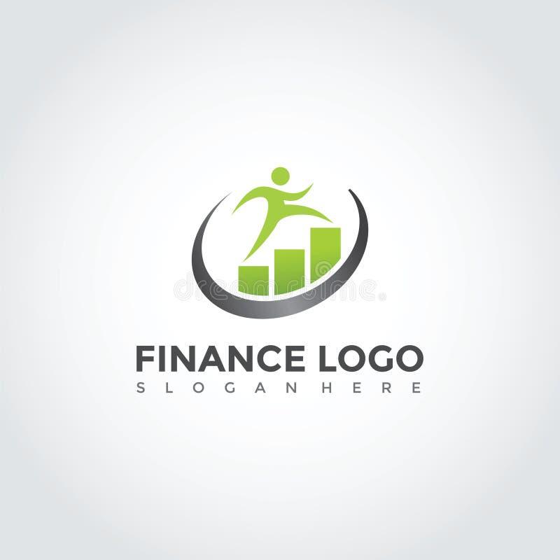 Finança Logo Template Design Ilustração EPS do vetor 10 ilustração do vetor