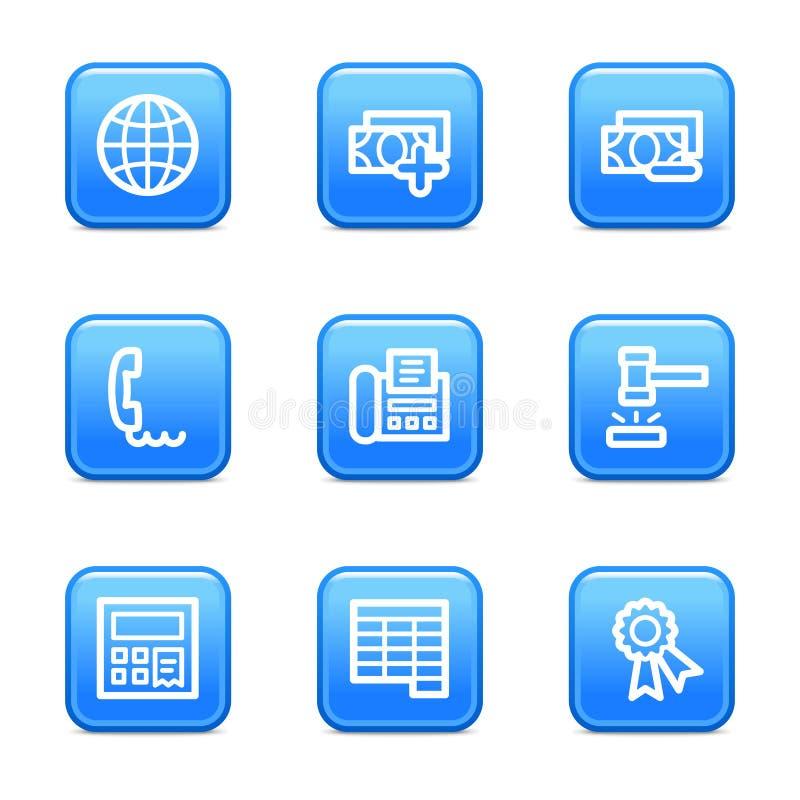 Finance 2 web icons stock illustration