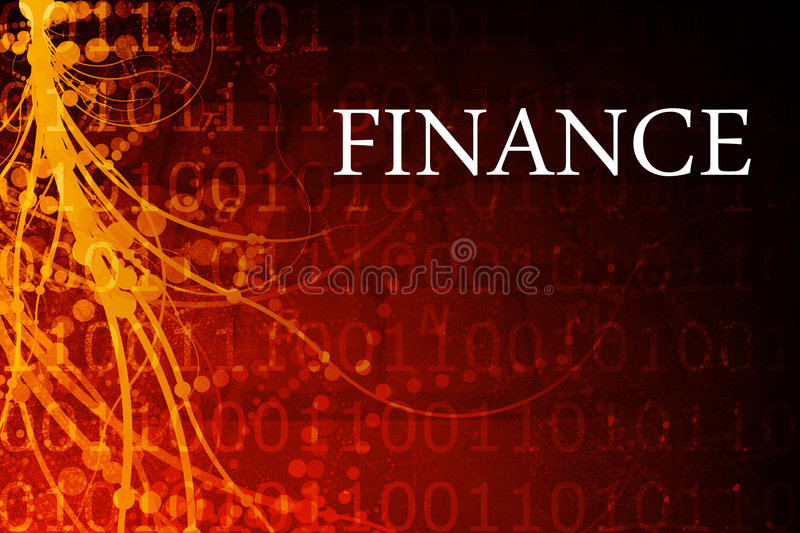 Finance Abstract Royalty Free Stock Photography