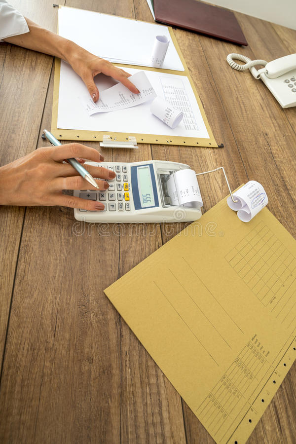 Finance and accounting concept royalty free stock photo