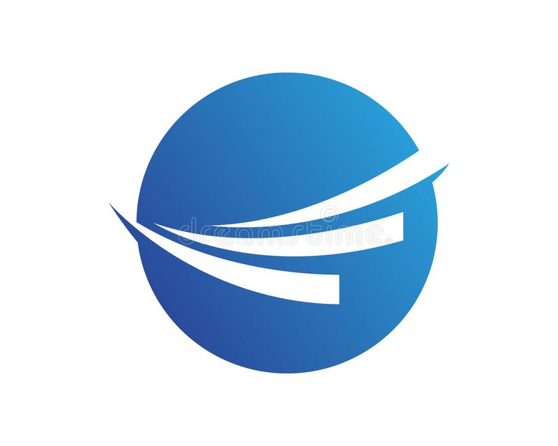 Finance Business logo and symbols vector concept illustration royalty free illustration