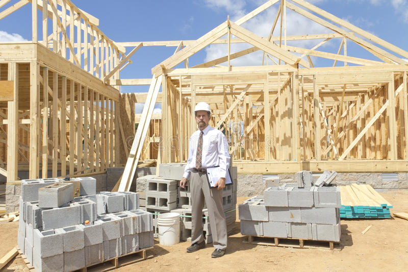 Finance Construction Director stock photos