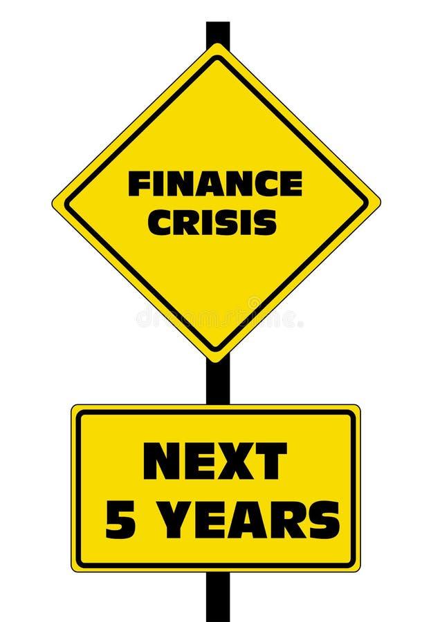 Finance Crisis Next 5 Years Stock Photo