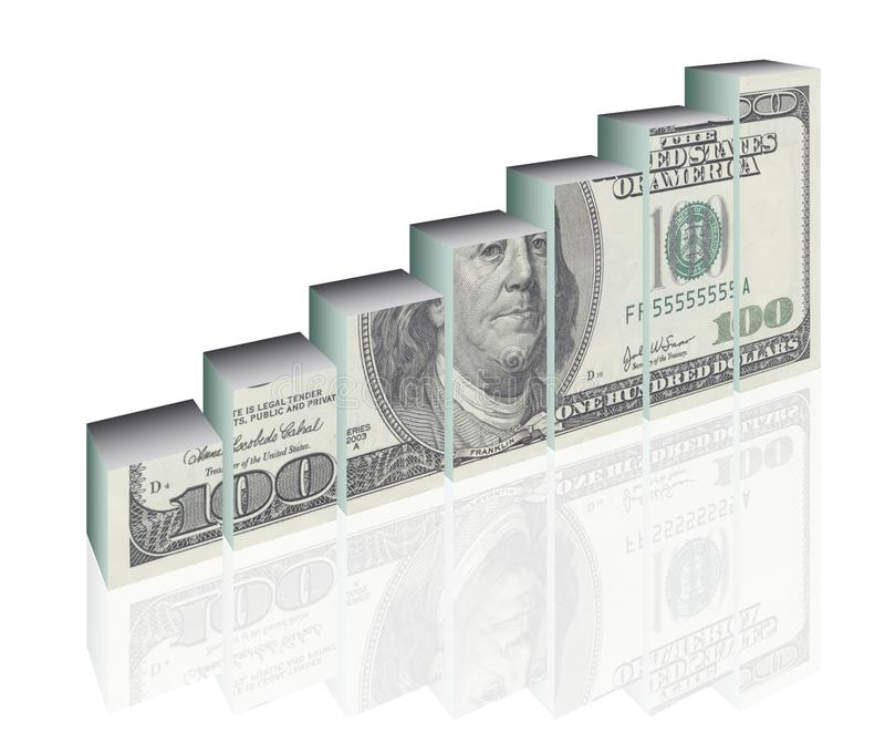 Finance diagram royalty free stock photos