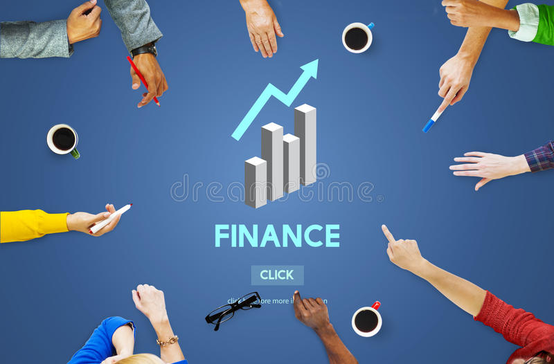 Finance Financial Accounting Balance Economy Concept royalty free illustration
