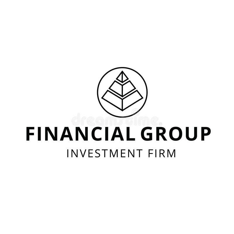Finance Financial Firm Planning Investment Group Logo. This logo can be used for any financial or investment firm vector illustration