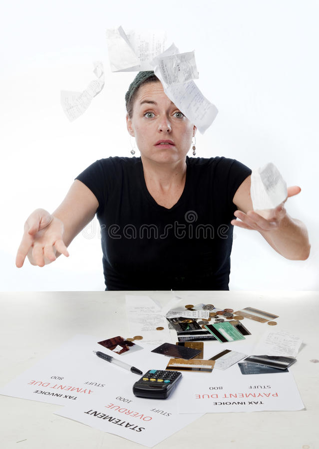 Download Finance frustrated stock photo. Image of accounts, payments - 12968110