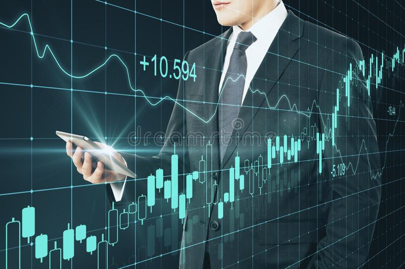 Finance and future concept stock photography
