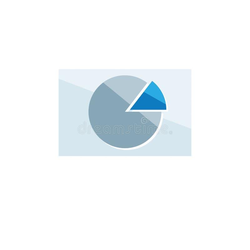 Finance icon. Vector illustration isolated on white background. royalty free illustration