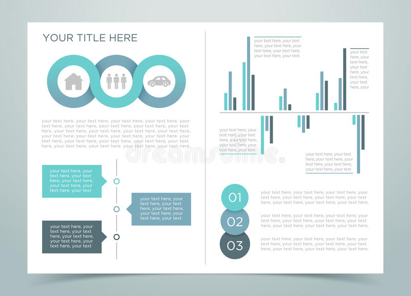 Finance Infographic Page 2 stock illustration