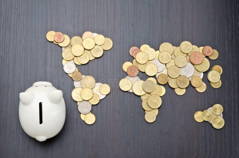 Finance internationale photographie stock libre de droits