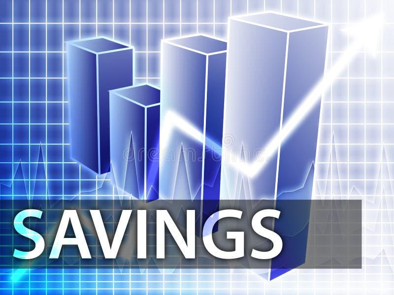 finance l'épargne illustration libre de droits