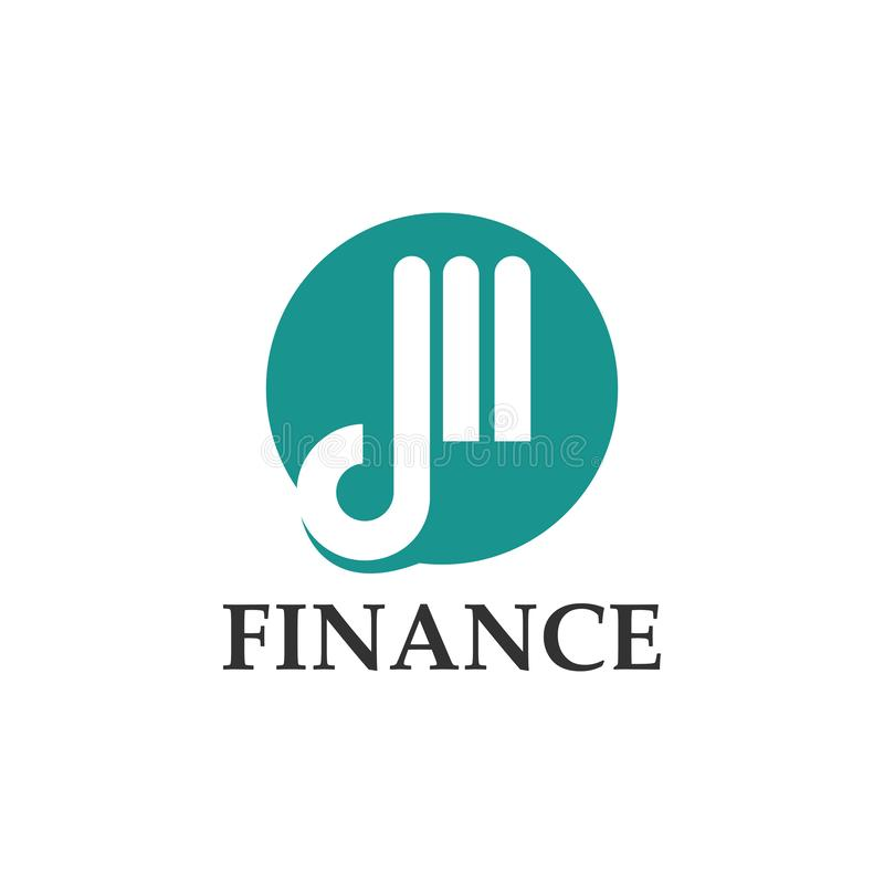 Finance logo design template. Vector illustration. Finance logo design template Vector illustration of icon, business, symbol, company, modern, abstract, concept royalty free illustration