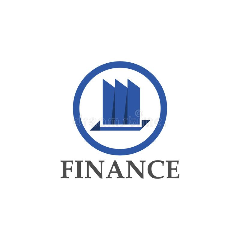 Finance logo design template. Vector illustration. Finance logo design template Vector illustration of icon, business, symbol, company, modern, abstract, concept vector illustration