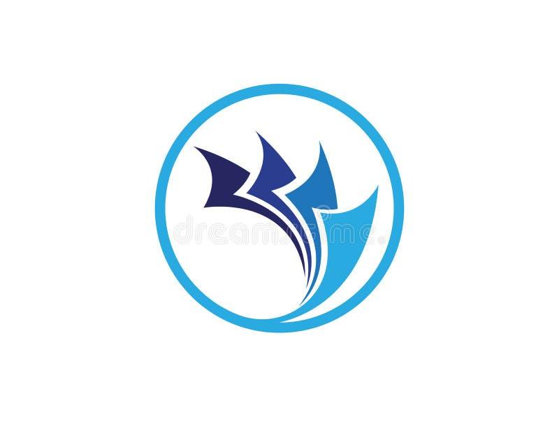 finance logo and symbols vector concept illustration.. royalty free illustration