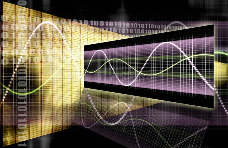 Finance Spreadsheet Tech Graph. A Finance Spreadsheet Tech Graph Art Background vector illustration