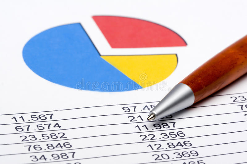 Finance Statistic 1 stock photo