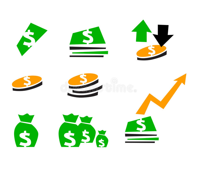 Finance symbol vector illustration