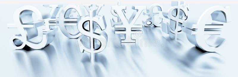 Download Finance symbols stock illustration. Image of symbol, dollar - 32100239