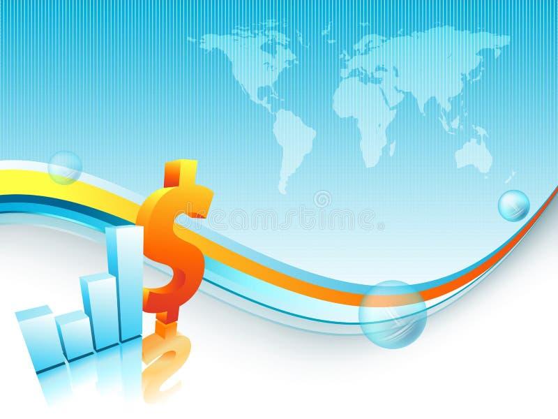 Finance vector background vector illustration