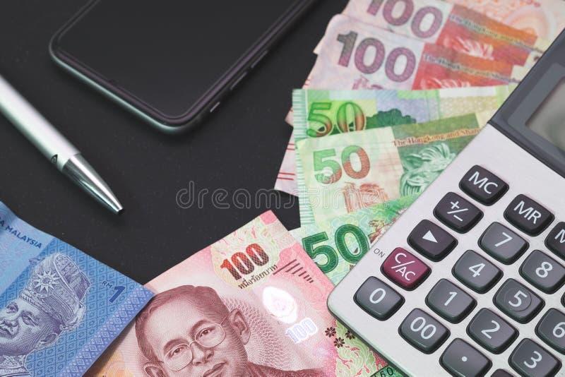 Financeiro, banqueiro, investimento, conceito do negócio foto de stock royalty free