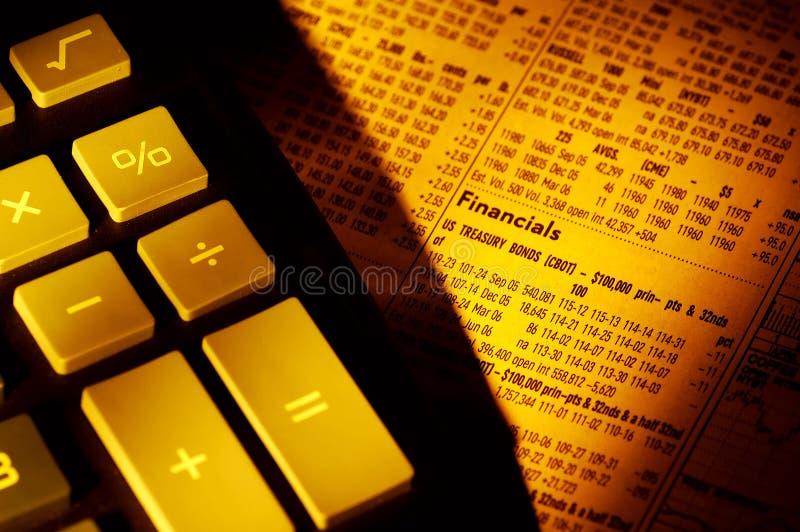 Financeiros imagem de stock royalty free