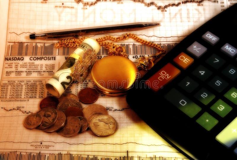 Finances image libre de droits