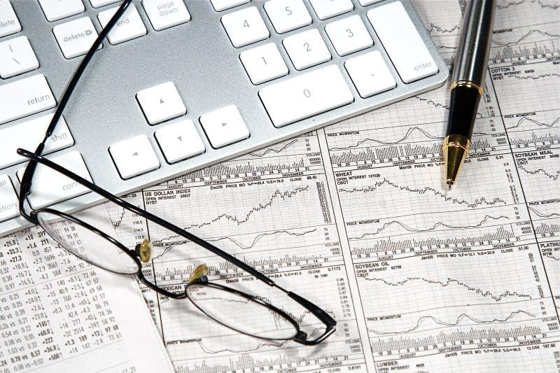 Finances d'affaires photo stock