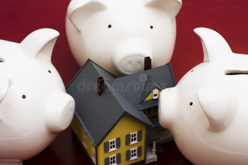 Finances de maison photo libre de droits
