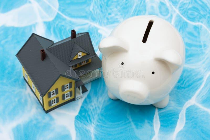 Finances de maison image libre de droits