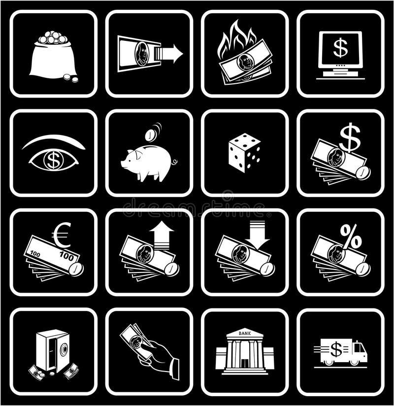 Finances, encaissant les graphismes 01 illustration libre de droits