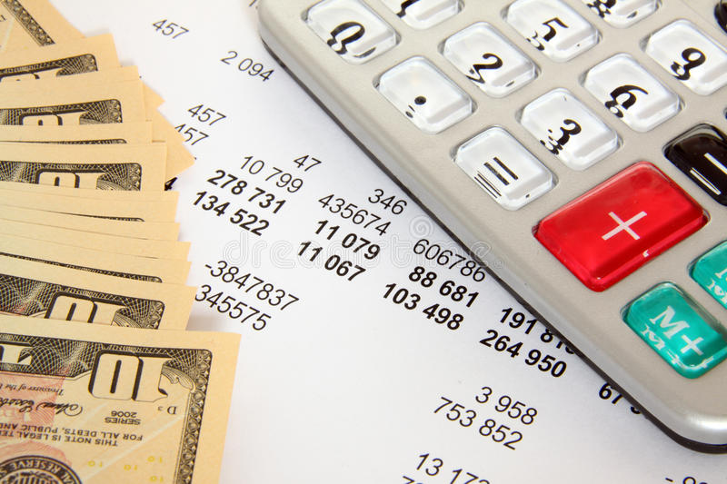 Finances et affaires image libre de droits